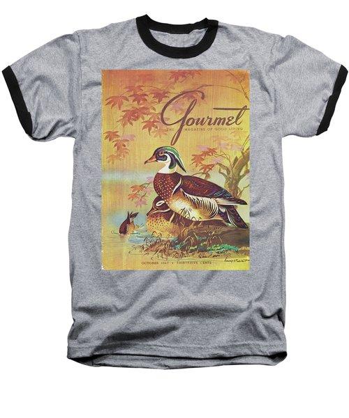 Gourmet Cover Of Wood Ducks Baseball T-Shirt