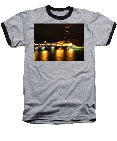 G.r. Grand River Glow Baseball T-Shirt