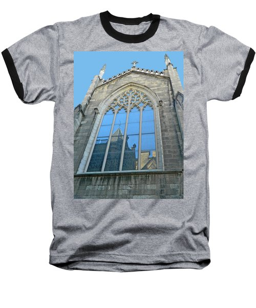 Baseball T-Shirt featuring the photograph Grace Episcopal Church Nyc by Emmy Marie Vickers
