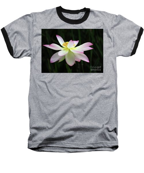 Graceful Lotus Baseball T-Shirt