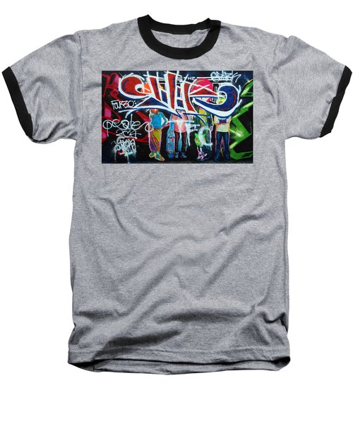 Graffiti Art Baseball T-Shirt