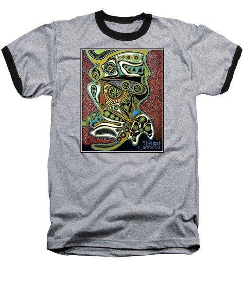Grain De Folie.. Baseball T-Shirt by Jolanta Anna Karolska