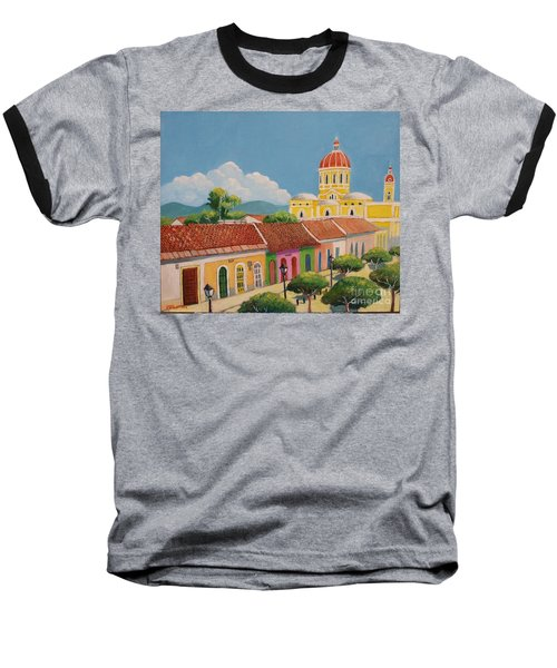 Granada Cathedral Baseball T-Shirt