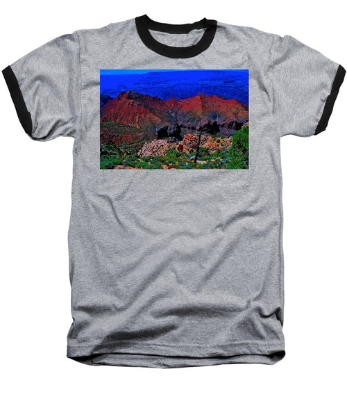 Grand Canyon Beauty Exposed Baseball T-Shirt