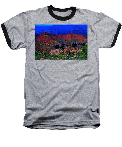 Grand Canyon Beauty Exposed Baseball T-Shirt by Jim Hogg