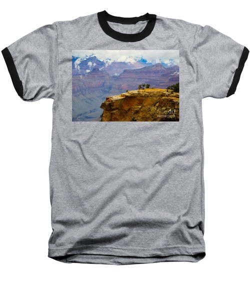Grand Canyon Clearing Storm Baseball T-Shirt