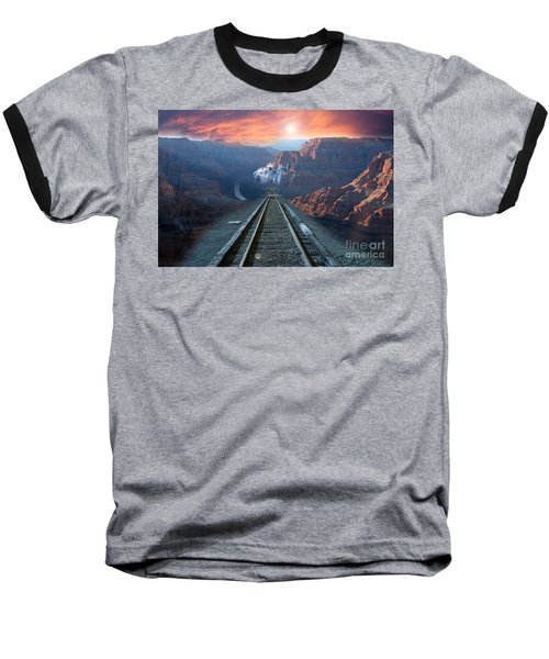 Grand Canyon Collage Baseball T-Shirt