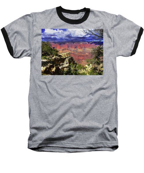 Grand Canyon Baseball T-Shirt by Craig T Burgwardt