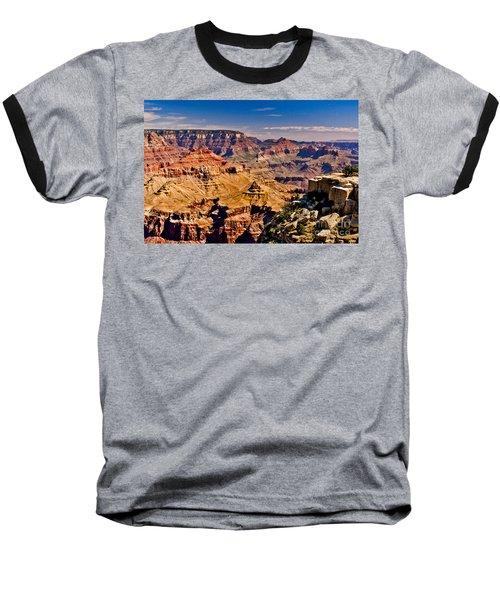 Grand Canyon Painting Baseball T-Shirt