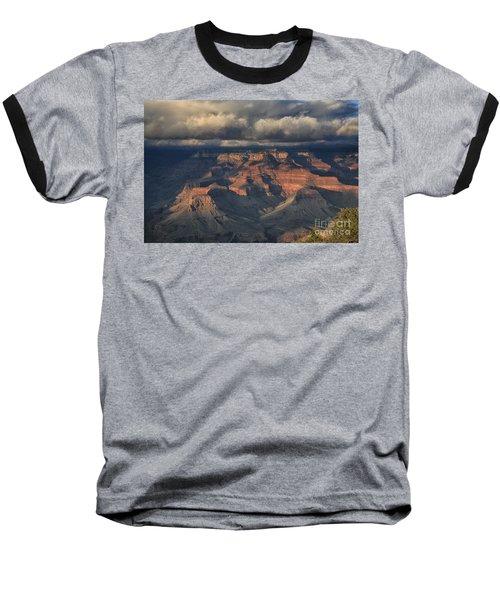 Grand Canyon View Baseball T-Shirt