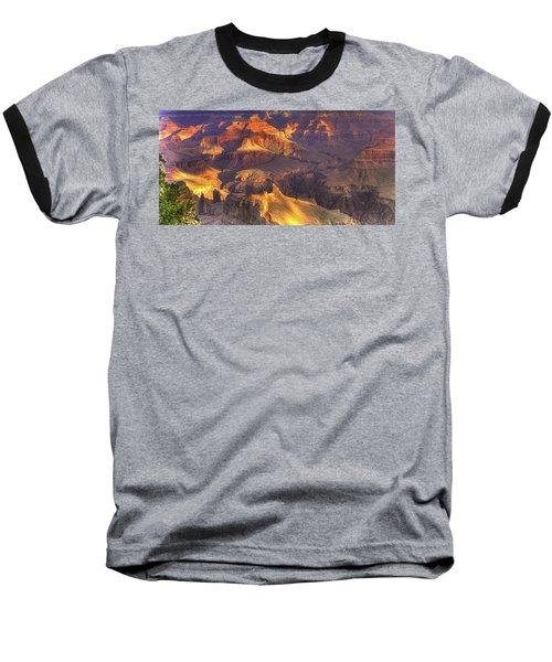 Grand Canyon - Sunrise Adagio - 1b Baseball T-Shirt by Michael Mazaika