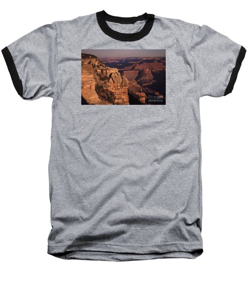 Baseball T-Shirt featuring the photograph Grand Canyon Sunrise by Liz Leyden