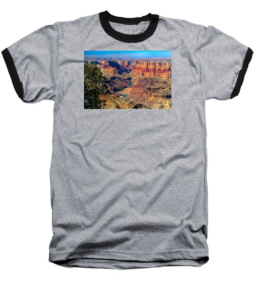 Grand Canyon Sunset Baseball T-Shirt by Robert Bales
