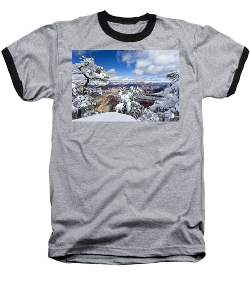 Grand Canyon Winter - 1 Baseball T-Shirt