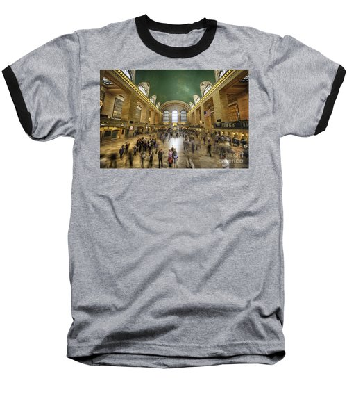 Grand Central Rush Baseball T-Shirt
