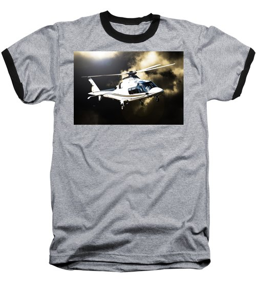 Grand Flying Baseball T-Shirt by Paul Job