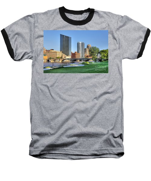 Grand Rapids Mi100 Art Prize Baseball T-Shirt