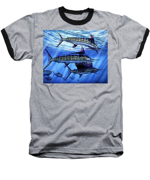 Grand Slam Lure And Tuna Baseball T-Shirt
