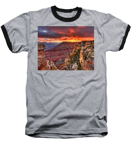 Grand Sunrise Baseball T-Shirt