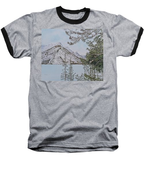 Grand Teton View Baseball T-Shirt