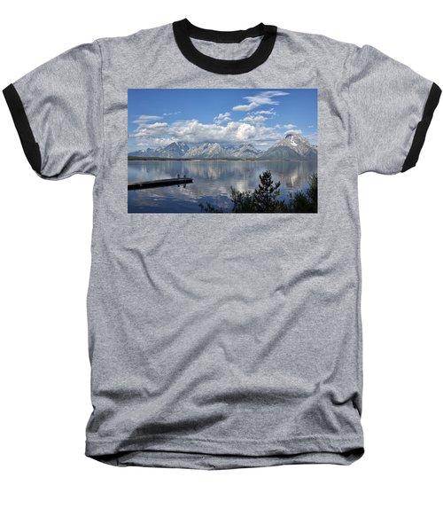 Grand Tetons In The Morning Light Baseball T-Shirt
