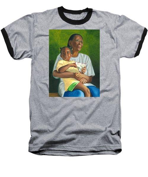 Grandma's Lap Baseball T-Shirt