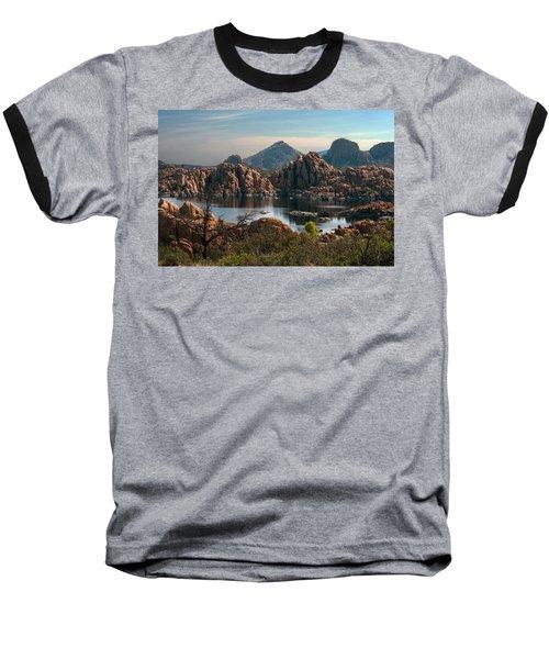 Granite Dells At Watson Lake Baseball T-Shirt