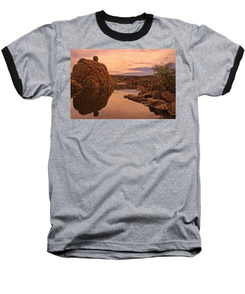 Baseball T-Shirt featuring the photograph Granite Dells by Priscilla Burgers