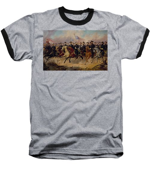 Grant And His Generals Baseball T-Shirt