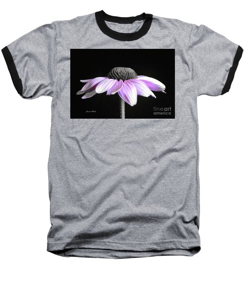Grape Mist Baseball T-Shirt by Jeannie Rhode