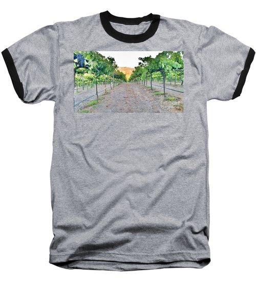 Grape Vines Baseball T-Shirt
