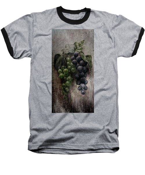 Baseball T-Shirt featuring the photograph Off The Vine by Aaron Berg