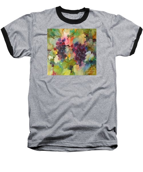 Grapes In Light Baseball T-Shirt by Michelle Abrams