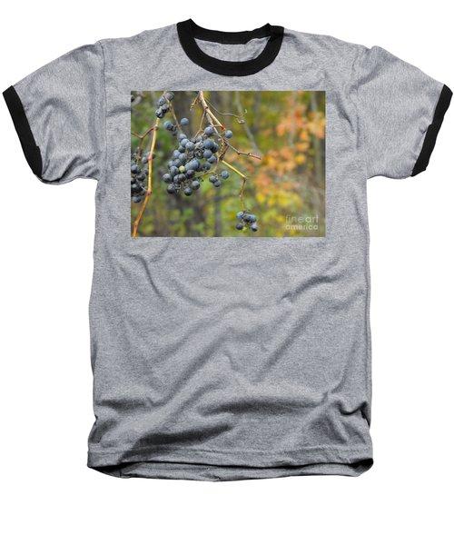 Grapes Left Baseball T-Shirt
