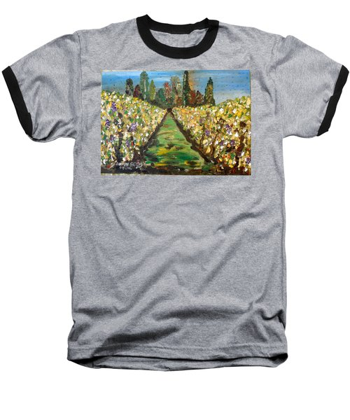 Grapes Of Tuscany Baseball T-Shirt