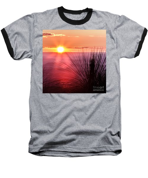 Grasstree Sunset Baseball T-Shirt