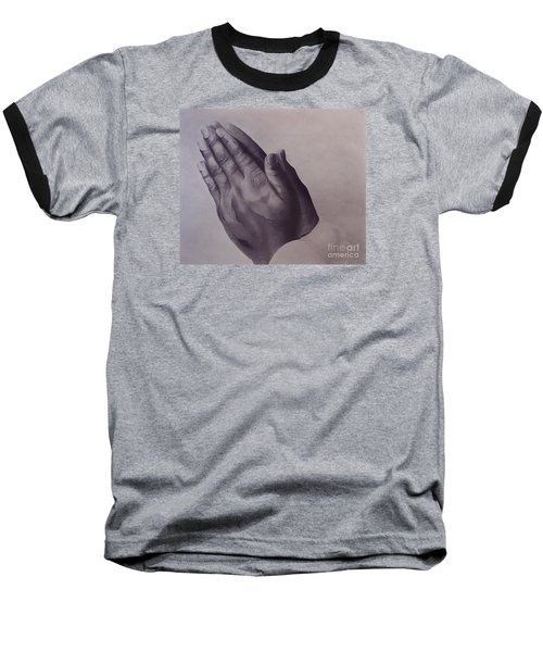 Baseball T-Shirt featuring the drawing Grateful One by Wil Golden