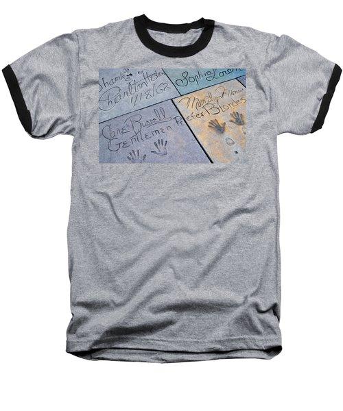 Grauman's Chinese Theatre Marilyn Monroe Baseball T-Shirt