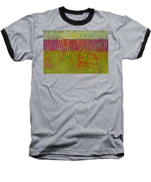 Gray And Green Baseball T-Shirt