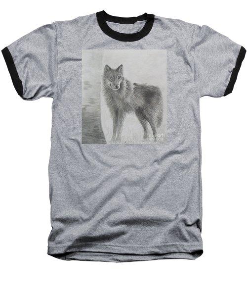 Gray Wolf Baseball T-Shirt