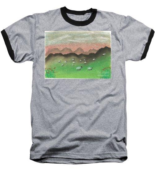 Grazing In The Hills Baseball T-Shirt