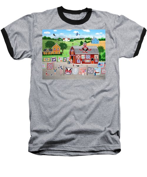 Great American Quilt Factory Baseball T-Shirt