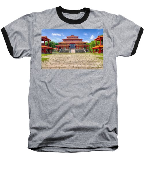 Great Buddha Hall Baseball T-Shirt