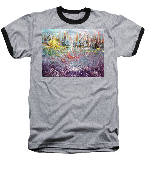Great Day In Chicago - Sold Baseball T-Shirt by George Riney