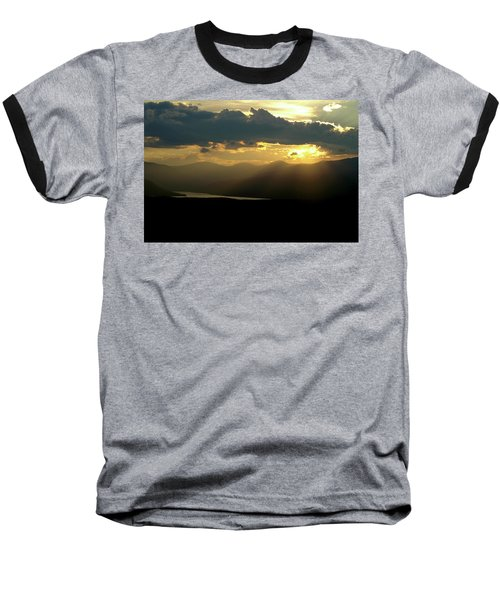 Baseball T-Shirt featuring the photograph Great Divide Light by Jeremy Rhoades