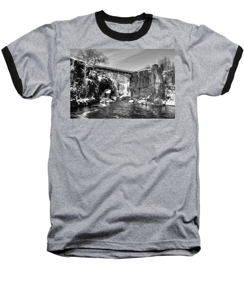 Great Falls In The Winter Baseball T-Shirt
