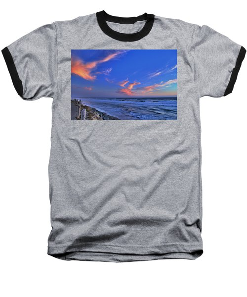 Great Highway Sunset Baseball T-Shirt