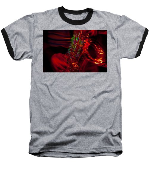Baseball T-Shirt featuring the photograph Great Sax by Alex Lapidus