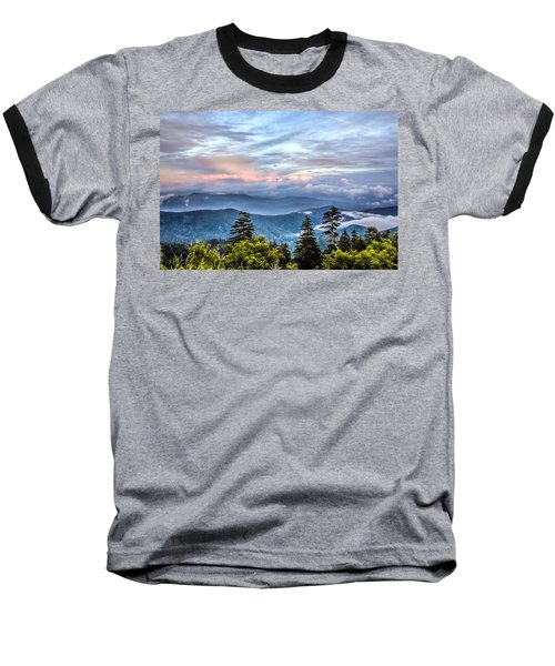 Great Smoky Mountains Baseball T-Shirt by Rob Sellers