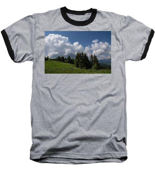 Baseball T-Shirt featuring the photograph Green Ball Gowns  by Georgia Mizuleva
